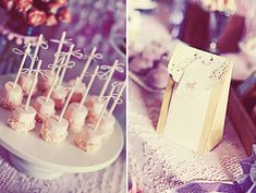 strawberry marshmellows dipped in white chocolate rolled in sugar pearl sprinkles/ treat bags