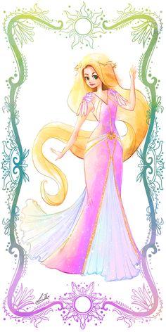 Deco Disney: Rapunzel by Lorraine Yee  #disney #princess