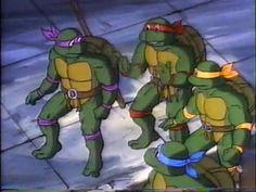 Teenage Mutant Ninja Turtles, Costume Inspiration: Original Cartoon TV Show.