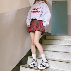 Korean Outfits image about ulzzang in korean outfits ahgasenoona Korean Outfits. Here is Korean Outfits for you. Korean Outfits image about ulzz. Edgy Outfits, Mode Outfits, Grunge Outfits, Girl Outfits, Fashion Outfits, Fashion Ideas, Fresh Outfits, Korean Outfits Cute, Korean Spring Outfits