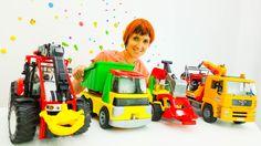 Видео для детей. Большие машины в детском саду. Капуки Кануки Маша новые...