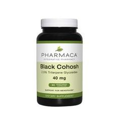 Black Cohosh 40 mg 90 Vegetarian Capsules  Black Cohosh shines as a remedy for hot flashes, headaches, heart palpitations, irritability….the list goes on. One of the top natural menopause relief solutions.