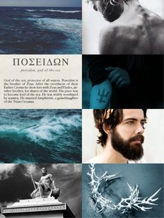 "Poseidon [Ποσειδῶν] is the god of oceans, sailors, shipwrecks, earthquakes, brother of Zeus and Hades. Child of Cronus and Rhea.      He is called the ""God of the Sea"" and ""Earth-Shaker"". Poseidon was the protector of many Hellenic cities. Although, he lost the contest for Athens to Athena. It is said by many that Podeidon was the ruler of the ancient and glorious Atlantis.      Always considered to be moody, and bad-tempered, seeking revenge to whoever dared to defile him. He holds a…"