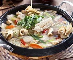 Korean Food | Odeng Guk | Fish Cake Soup