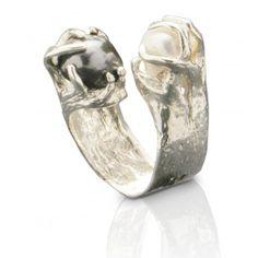 Anillo de plata con piedras preciosas Sueño de Ibiza