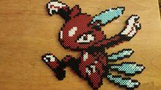 Pokemon Crystal Sneasel Perler Art van HighNoonPerlers op Etsy