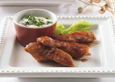 Boneless Buffalo Chicken Appetizers Recipe by Betty Crocker Recipes, via Flickr