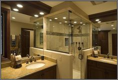 Master Bathroom Ideas Without Tub