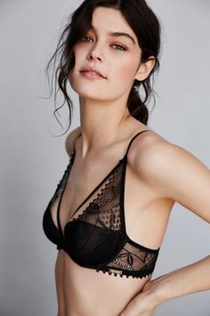 Calvin Klein Provocative Plunge Bra - Urban Outfitters