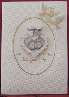 A congratulations card for two dear freinds
