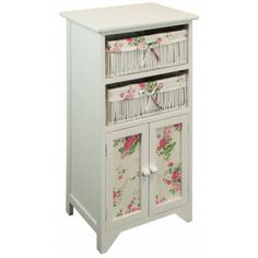 Floral Rose Storage Unit