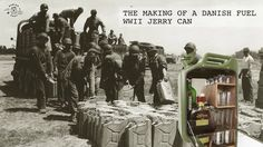 A Jerry Can is the name for a Military fuel tank invented by the Germans in 1939 during the WW2.   Danish Fuel is buying those old Military Fuel cans and transforming them into luxury lifestyle products as a Re-PURPOSE  All Jerry Cans are handcrafted in Denmark