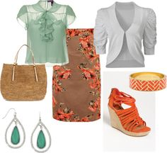 going to church- summer, created by thepeacockprincess on Polyvore