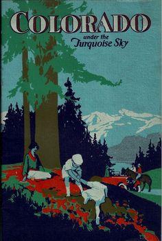 1920s Colorado Travel Brochure