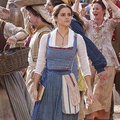 Emma Watson — New stills of Emma Watson as 'Belle' in Disney's...