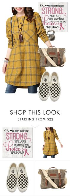 """bag"" by masayuki4499 ❤ liked on Polyvore featuring Vans, Cathy's Concepts and Insignia Collection"