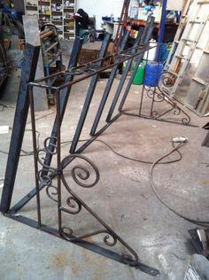 Marquise en fer forge marquise pinterest articles for Fabriquer une marquise en fer forge
