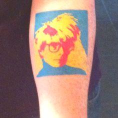 Andy Warhol #tattoo #art