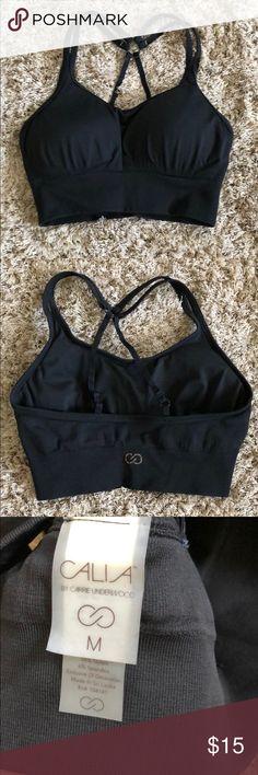 Black sports bra Calia by Carrie underwood  Great condition  Never worn CALIA by Carrie Underwood Intimates & Sleepwear Bras