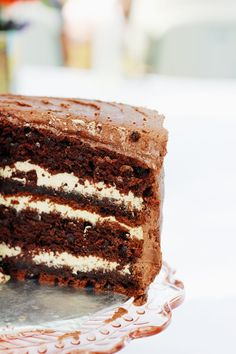 I am not a huge fan of chocolate cake. It's more the texture than the taste. (I don't like the spongey-ness of it. The fudgier the cake, ...
