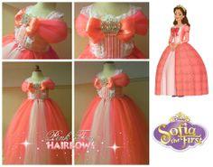 Queen Miranda tutu dress sofia birthday party sofia costume sofia dress up