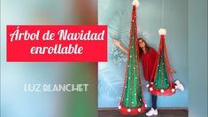 ARBOL DE NAVIDAD ENROLLABLE Christmas Ornaments, Holiday Decor, Youtube, Ideas, Pom Poms, Home, Christmas Jewelry, Christmas Decorations, Thoughts