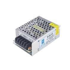 12V Transformer for LED Lights 18 Watt Power Supply LED Driver AC 100-265V to DC 12V Switching Converter for Low Voltage 12V Flexible LED Tape Strip Light 12V MR16 G4 GY6.35 LED Light Bulbs