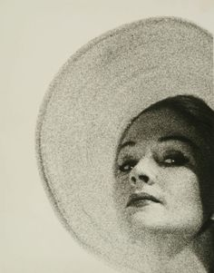 Erwin Blumenfeld - Hat, Fashion for Vogue, 1944