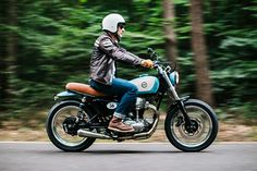 Think of your perfect desert island bike. For the purposes of the exercise let's say that this island is blessed with amazing roads; roads that you have to ride indefinitely. Suddenly all those dream rides like the Brough, Moto Guzzi V8 and the Britton look a little painful, yes? They'd be like having to share paradise with a megalomaniac millionaire or a narcissistic supermodel. You'd be better off with something that does a whole bunch of things really well, is super comfy and t...