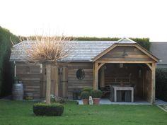 Bestel nu en geniet in de lente! Shed, Construction, Outdoor Structures, Medium, Building, Barns, Sheds, Medium Long Hairstyles