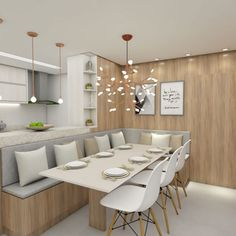 kitchen decoration – Home Decorating Ideas Kitchen and room Designs Kitchen Room Design, Dining Room Design, Home Decor Kitchen, Interior Design Kitchen, Dining Living Room Combo, Design Table, Chair Design, Banquette Seating In Kitchen, Dining Room Bench Seating