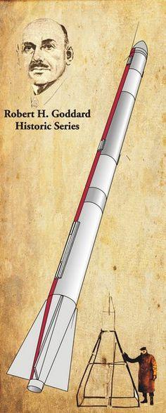 Robert Goddard's L-13 Model Rocket Kit Space Pioneers, Model Rocket Kits, Creative Artwork, Space Travel, Space Exploration, 3d Printing, Wax Museum, Scouts, Retro