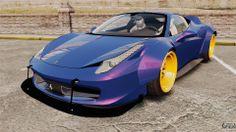 Ferrari 458 Italia Liberty Walk pour GTA 4