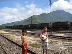 Boys and the old railway at Padang Panjang - West #Sumatra #Indonesia #travel