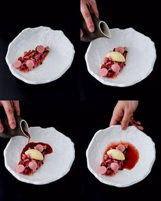 "4,659 gilla-markeringar, 28 kommentarer - Reynold Poernomo (@reynoldpoer) på Instagram: ""On the menu this week @koidb ""OoOoo La la""  Textures of strawberries (rose hydrated strawberries,…"""