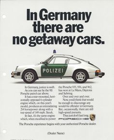 porsche vintage advertisements - Google Search