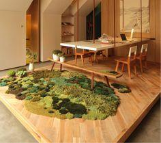 ブエノスアイレスのカーペット工場で作られているこちらのウールラグは、敷くだけでその場が芝生みたいに様変わり。とくに、木目状の床材と相性バツグンです。と...