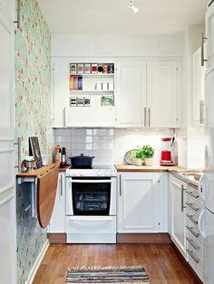 comment aménager une petite cuisine sans efforts