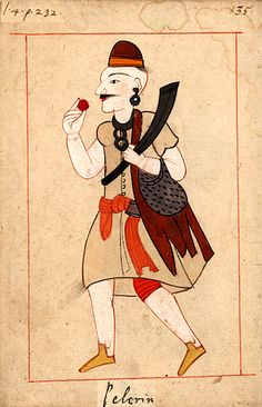 The 'Rålamb Costume Book' is a small volume by an undidentified Ottoman artist, containing 121 miniatures in Indian ink with gouache and some gilding, displaying Turkish officials, occu… Ancient History, Art History, Islamic Art Pattern, Ottoman Empire, Book Making, Military History, Pilgrim, Vintage Images, Illustration Art