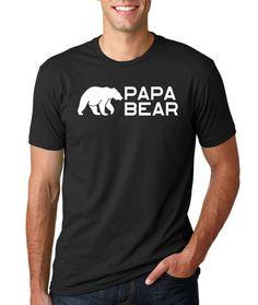 Papa Bear shirt, Birthday shirt, Dad Shirt, Vintage Age,,Birthday T-Shirt Idea, rad shirts, tumblr fashion, instagram fashion funny tops,