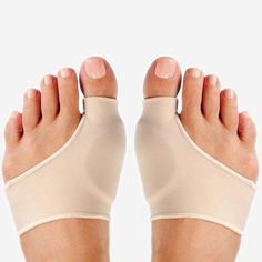Nude Color Two Size Foot Health Care Bunion Pads Spandex Gel Cushions Comfort and bunion relief is under your sleeve when you slip on the Bunion Sleeve with Gel! Bunion p. Bunion Pads, Health Tips, Health Care, Gel Cushion, Coconut Health Benefits, Nude Color, Mode Style, Cellulite, The Cure