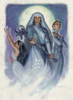Selûne (pronounced seh-LOON-ay), also known as Our Lady of Silver and the…