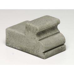 Campania International, Inc Classic Wide Riser Color: Aged Limestone