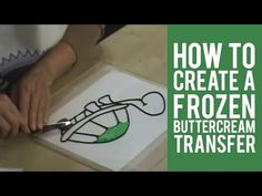 Decorating with Frozen Buttercream Transfers
