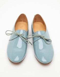 The Horse / Beverly in Sky Blue Patent