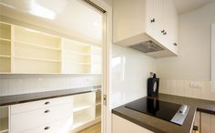 Plenty of space in the scullery. Kit Homes, Bathroom Lighting, Mirror, Space, House, Furniture, Home Decor, Bathroom Light Fittings, Floor Space