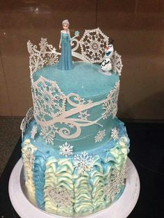 Elsa Cake Toppers Ireland