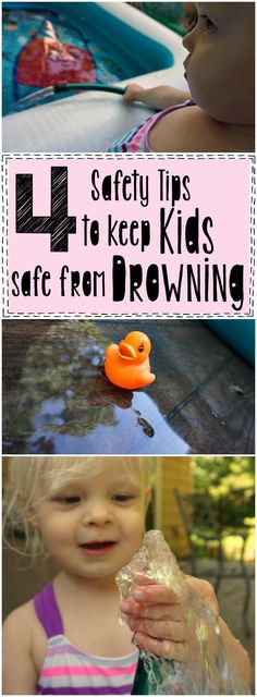 These 4 Safety Tips to Keep Kids Safe From Drowning are so easy to remember! AD #WaterSafety #CG