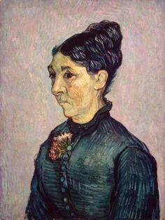 Vincent van Gogh (1853-1890), Portret van madame Trabuc, 1889, olieverf op doek, 63.7 x 48 cm, Museum De Hermitage, Sint-Petersburg