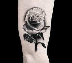 Rose tattoo by Benjamin Blvckout